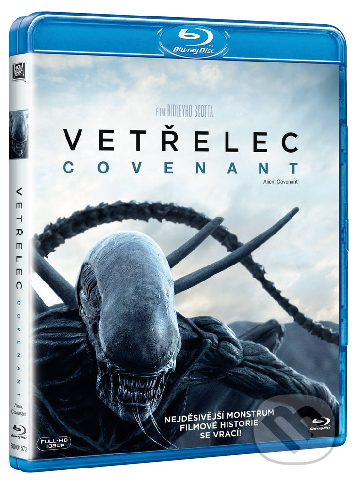 Film: Vetřelec: Covenant (Ridley Scott) (Blu-ray) | Martinus