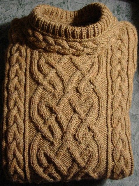 Free Aran Sweater Knitting Patterns