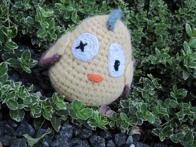 PIP GOK PÅSKE-PLIM #chicken #hen #crochet #toy #gallerigavlen