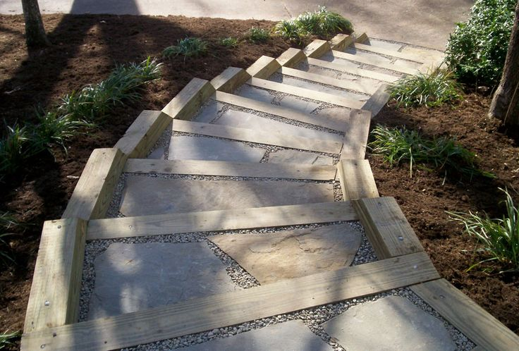 Landscape Timbers Mccoys : Landscape timbers stairs g