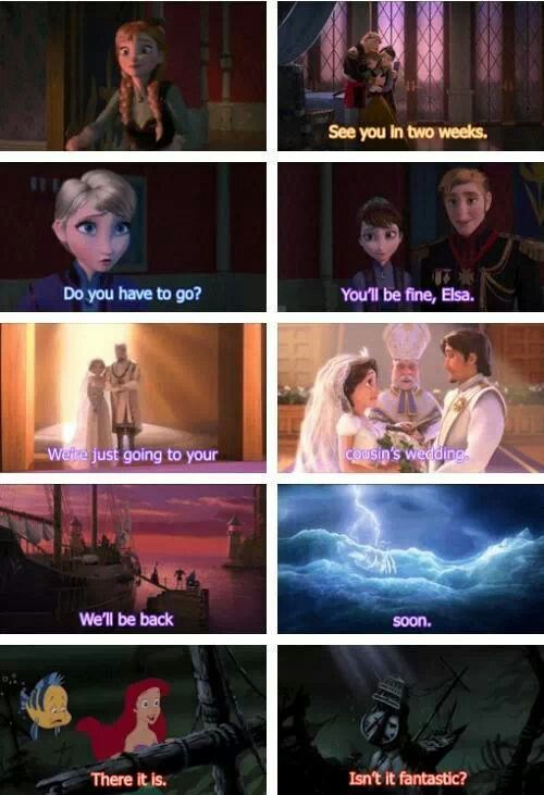 Frozen theory.... Has nothing to do with One Direction but super cool.