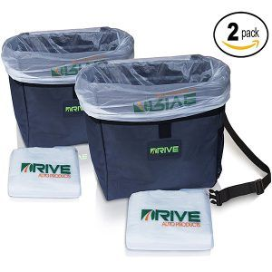 Drive Auto Products Car Garbage Can (2-Pack)