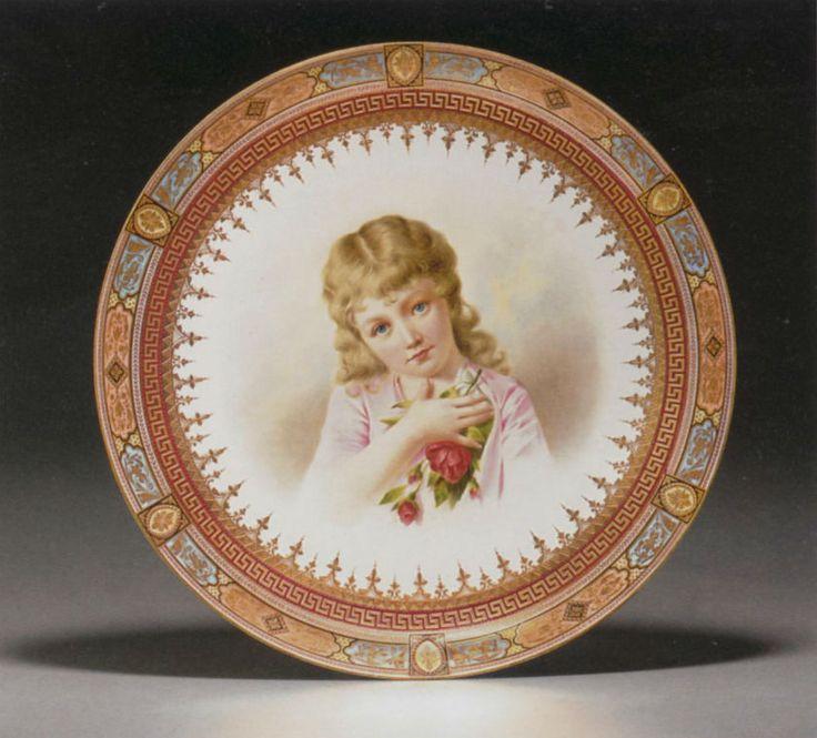 Королевская вена (5)   Ручная живопись на фарфоровых тарелках. Обсуждение на LiveInternet - Российский Сервис Онлайн-Дневников
