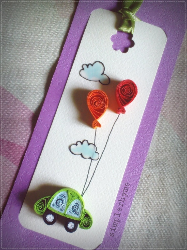 47 Best Quilling Tags And Bookmarks Images On Pinterest