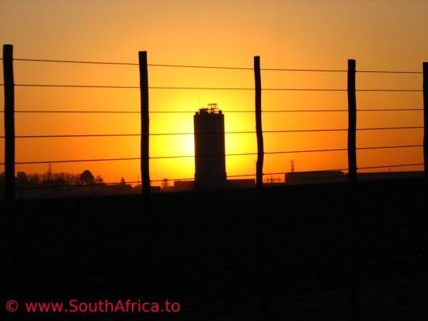 A sunset in Midrand Johannesburg