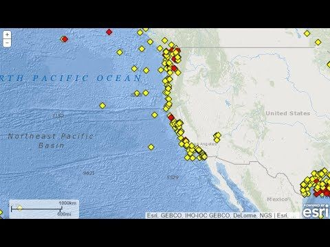 PLANET X NEWS - CASCADIA SUBDUCTION ZONE OCEAN BOUY DETECTS EVENT