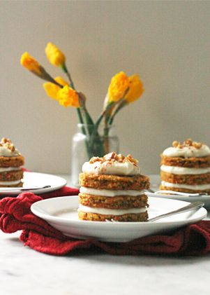 ... about Mini sandwich cakes on Pinterest | Tins, Minis and Carrot cakes