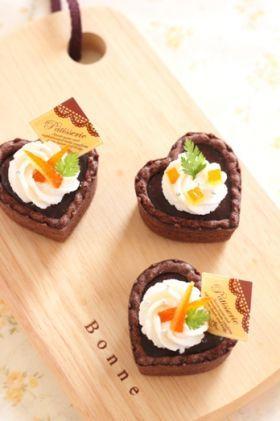 「オレンジピールの生チョコタルト」chihiro | お菓子・パンのレシピや作り方【corecle*コレクル】