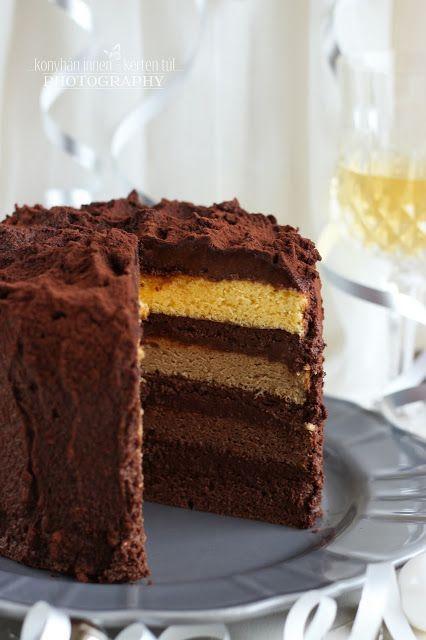 ...konyhán innen - kerten túl...: Narancsos csokoládétorta