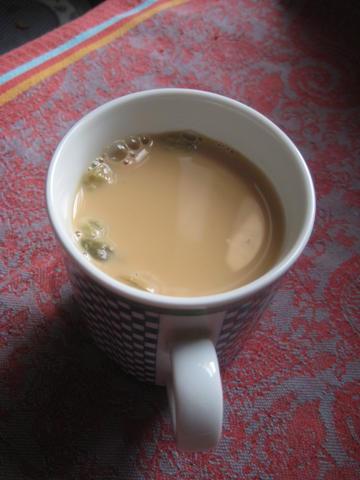 Yemeni Spiced Milk Tea