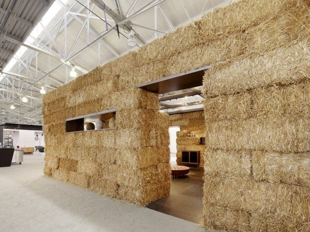 Hay bales are an agricultural by-product typically used for bedding, roughage and fuel.