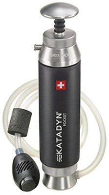 Portable Water Filters 181407: Katadyn Pocket Microfilter (8013618) Camping Water Filter BUY IT NOW ONLY: $319.95