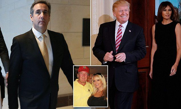 Trump lawyer admits porn star payment from his own pocket   Daily Mail Online