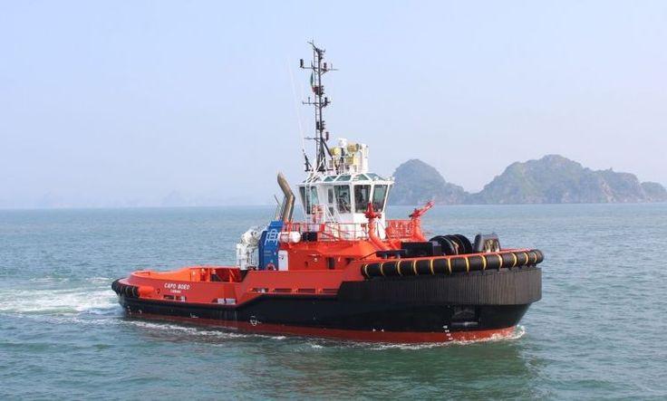 Rimorchiatori Augusta takes delivery of Damen ASD Tug 2810 Capo Boeo