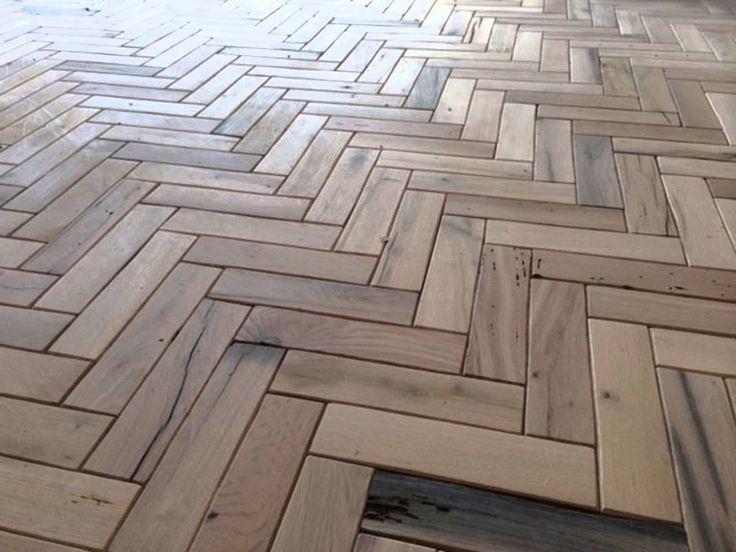 Install Of A Herringbone Floor FloorsParquet FlooringFrench