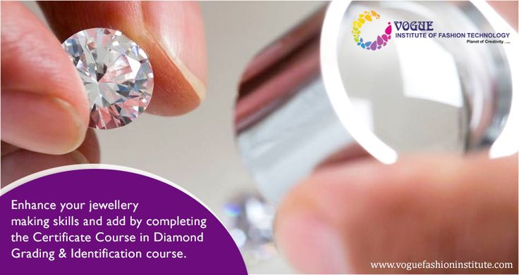 Enhance your jewellery making skills and add to your credentials by completing the Certificate Course in Diamond Grading & Identification (CCDGI) course. It's just a four-month program and is open for anyone who has completed their tenth standard. Join our #Jewellery #design #courses @ https://goo.gl/r8H2Rk and pursue your passion. #VIFT #JewelleryDesigning