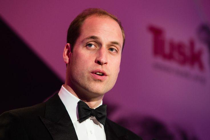 Prince William Exudes James Bond Levels of Handsome at the Tusk Conservation Awards
