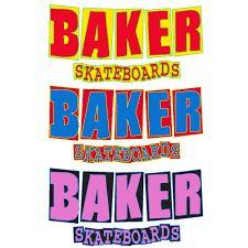 - BAKER SKATEBOARDS -