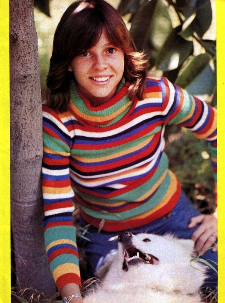 Little darling: Kristy McNichol, the young actress America ...