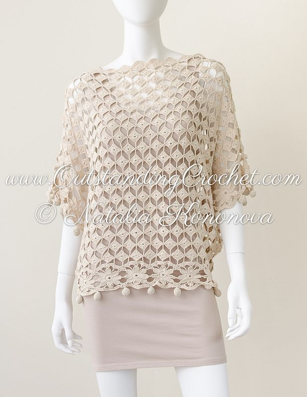 Outstanding Crochet. New off shoulder top design.