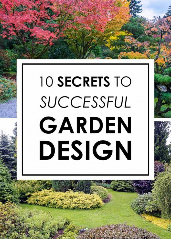 Landscape Design 10 Secrets To Designing A Beautiful Garden Gardening From House To Home Landscape Design Garden Design Garden Design Layout