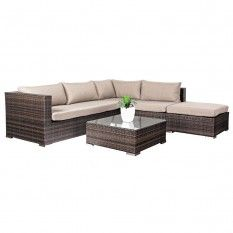 Valencia Corner Lounge Suite with Coffee Table 52259
