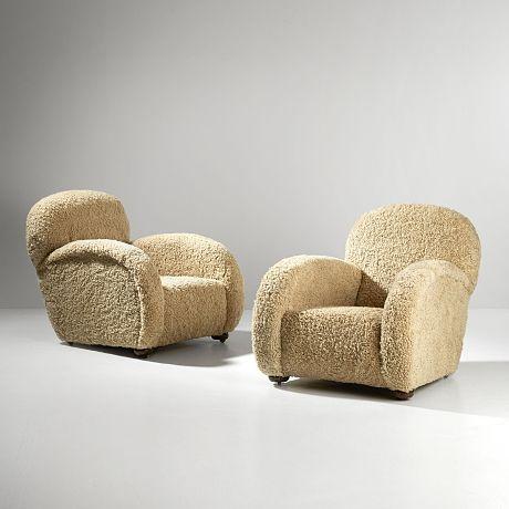 mayfair london armchairs (1930s)