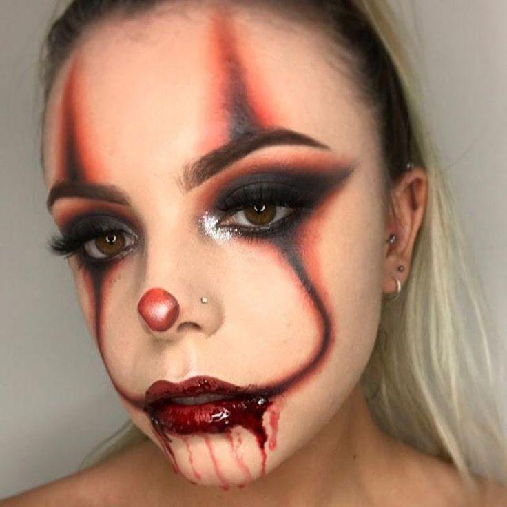 Simple Scary Makeup Halloween Makeup In 2020 Halloween Makeup Pretty Amazing Halloween Makeup Cute Halloween Makeup