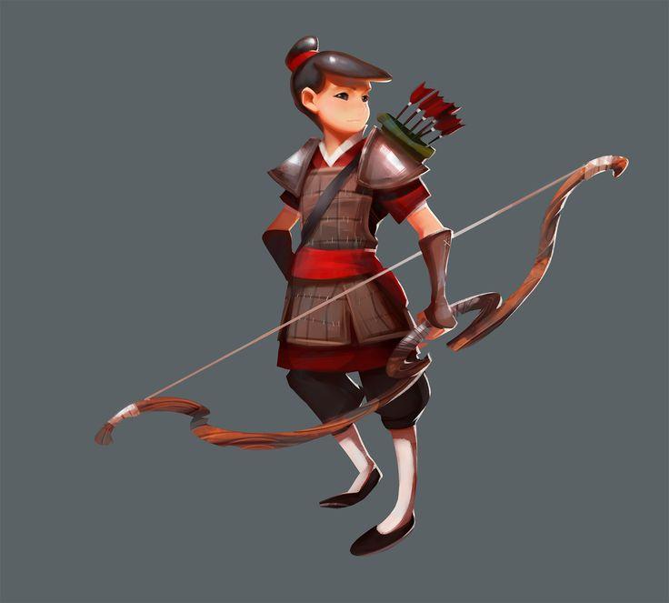Archer boy