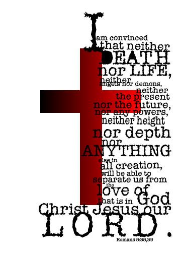The Cross set me free! praise God.