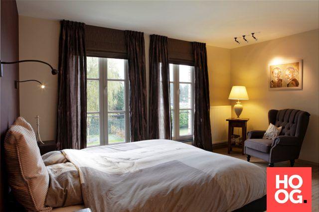 Slaapkamer landelijke stijl | slaapkamer ideeën | bedroom ideas | master bedroom | Hoog.design