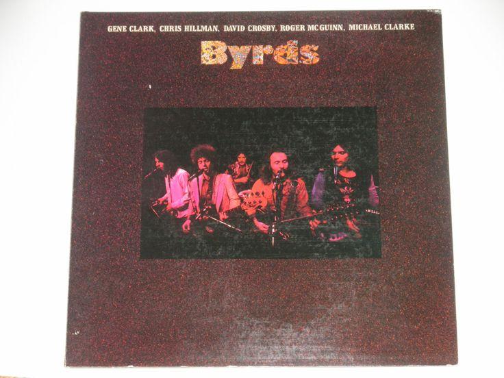 The Byrds - Gene Clark - David Crosby - Roger McGuinn - Michael Clarke - Original Asylum Records 1973 - Vintage Gatefold Vinyl Record Album