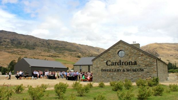 Cardrona Whiskey Distillery, Cardrona Valley near Queenstown New Zealand. Opened in early 2016.