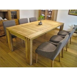 Dining-room furniture, from oak wood