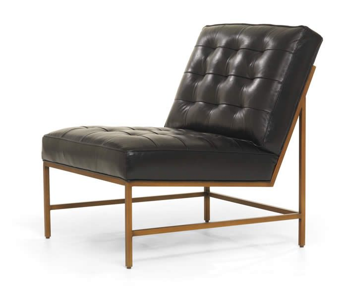 Major Leather Chair By Mitchell Gold Bob Williams
