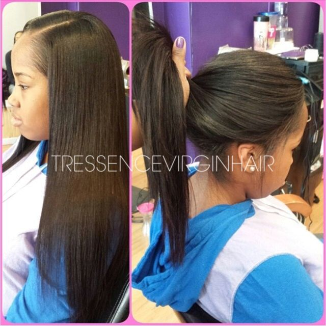 Experience the Straight texture from the STEAM collection at www.TressenceVirginHair.com