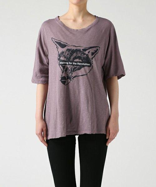 UNDERCOVER(アンダーカバー)の「UCS1891-5(Tシャツ/カットソー)」|パープル