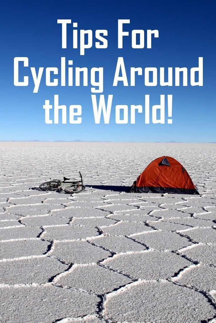 Everything you need to know about cycling around the world! ---> http://www.mappingmegan.com/how-to-cycle-around-the-world/