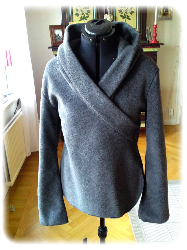 Fleece sports jacket. Would love in another material.