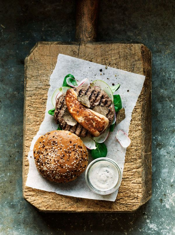 British burgers can be a breakfast, lunch or dinner. They go well with whisky, too.