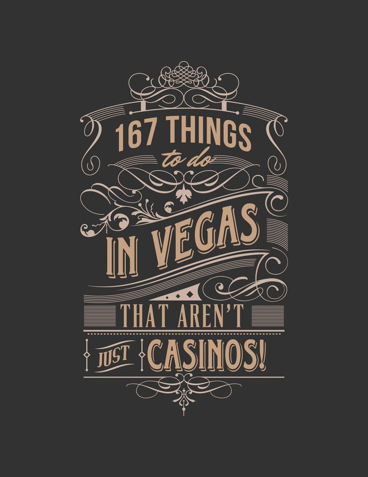 things to do in las vegas that aren't gambling