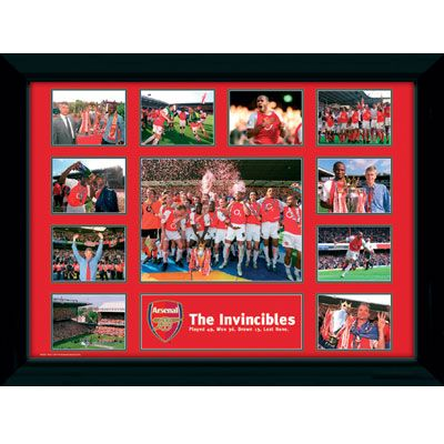 Arsenal Invincibles Picture | Arsenal FC Gifts | Arsenal FC Shop