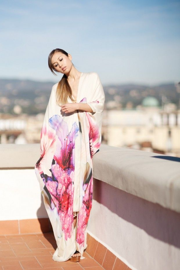 8 stunning kaftans to cover up itty bitty bikinis this summer
