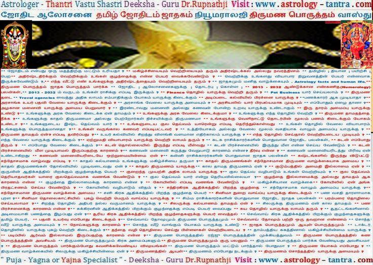 Ootacamund Tirunelveli Thiruvallur Tiruvannamalai Jyotish Astrologer