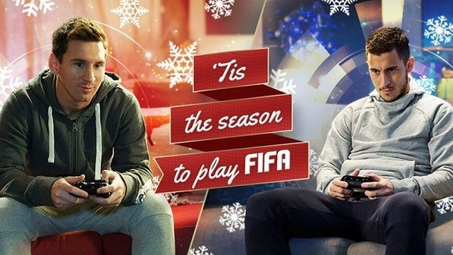Enjoy FIFA 15 with FUT 15 Christmas Various Campaign  How does FIFA 15 celebrate Christmas  What are FIFA 15 Christmas Commercial 2014  What are FIFA 15 Holiday Edition  When will special FUT 15 Christmas packs and tournaments be available?  How does FIFA 15 players get Surprise Christmas Gift and Packs 2014?  You will find all the answers here: http://www.gold4fans.com/News/14120723424206/Info.aspx