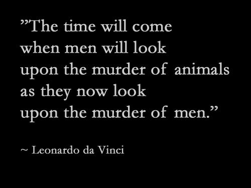 Leonardo da Vinci had it right