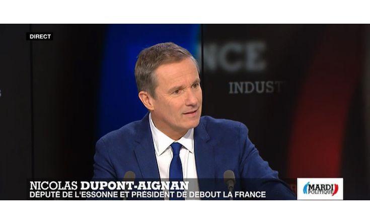 Nicolas Dupont-Aignan invité de Mardi Politique