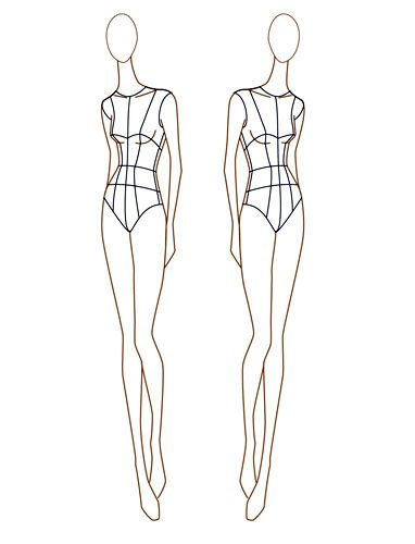 Best 25+ Female croquis ideas on Pinterest Fashion illustration - fashion designer templates