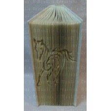 Tribal Horse Book Folding Patterns / Templates and Book Folding Software on Bookami®
