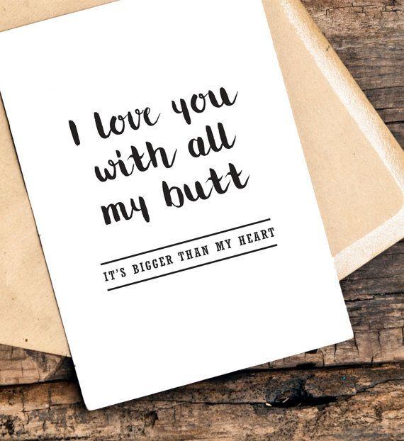 funny boyfriend birthday card birthday card by TheLittlePiper